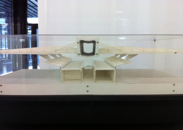 Exposition ETHZ GTA, maquettes en carton