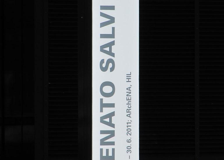 Exposition ETHZ GTA, panneau d'indication de l'exposition